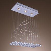 beaded ceiling light - Crystal Ceiling Lights Plafon LED Ceiling Lamps Crystal Beaded Lustres De Sala Teto for Living Dinning Room Decoration Lighting