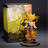 anime - Collectible cm Dragon Ball Z PVC Action Figure Super Saiyan Goku Son Gokou Boxed Anime Model Collection Toy Christmas Gift Toys