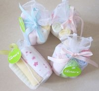 Wholesale 8Pcs Set cm Foreign trade of the original single small square baby bibs feeding towel handkerchief