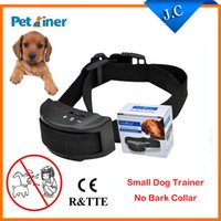 barking dog sensor - Petainer Automatic Anti Barking Collar for Dogs Electric Shock Vibration and Sound Sensor Intensities No Remote Needed