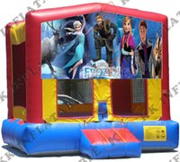 big cheap houses - new product frozen banner jumping bouncer house cheap big inflatable bouncer