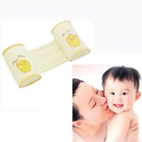 Wholesale Stylish Newborn Baby Safe Cotton Anti Roll Support Pillow Anti rollover Pillow