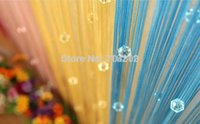 Wholesale Fashion Hot Acrylic Beaded String Curtain Fly Insect Door Screen Divider Window Blind Drape
