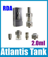 Cheap Newest Atlantis Tank RDA Atomziers Replaceable Coils With Gift Box VS Aspire Nautilus Mini Nautilus BVC Tank AT112