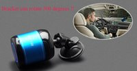 ad player - 50pcs ADS B Portable MINI Wireless Bluetooth Vehicle Mounted Suction Cup Speaker Support Hands free phone with TF card function