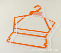 Wholesale children s clothing store plastic frame leotard rack hanger clothing hangers stall