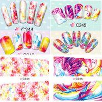 beauty tips summer - 1x Summer Full Designs Nail Art Tips Stickers Water Transfer Tattoos Decorations Nail Art Decals Foils for Nail Beauty C244