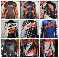 atv jersey - New KTM Motocross Jersey for MTB ATV MX DH KTM Motorcycle Racing Jersey Mountain Dirt Bike Bicycle Cycling Jersey Men Shirt