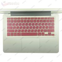 Wholesale Mix Colors US layout design Russia Russian Silicone Laptop Keyboard shell Cover Protective film For Apple Macbook Mac quot quot quot inch iMac G6
