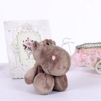 nici - New Small Cute Plush Pendant cm Stuffed Animal Hippos NICI Peluche Dolls Kids Toys Children Gift Party Decoration One Piece