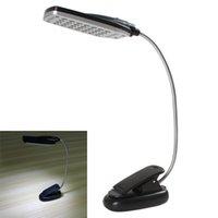 table lamp - Flexible USB Battery Power LED Light Clip on Bed Table Desk Lamp EGS_371