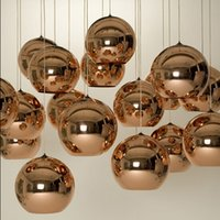 lamp shade - Tom Dixon Pendant Lamp Copper Ball pendant Lamp Copper Shade Chandelier Dia cm modern lamp also Factory Outl