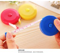 Wholesale Telescopic tape Convenient to carry meters of soft tape measure Lovely mini round tape measure