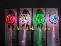 led decoration light - Rose Flower Flash Braid Fiber Optic Hair Light Led Hair Flash Braid Hair Decoration Fiber Luminous Braid for Halloween Christmas Party Holid