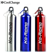 Wholesale CoolChange ML Stainless Steel Bicycle Stainless Steel Water Bottle Road Bike Thermos Flask Vacuum Bottles Colors