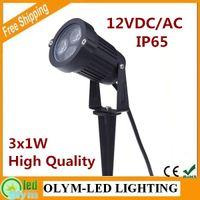 Wholesale High Quality LED Garden Light V V V W Outdoor Waterproof IP65 LED Lawn Light Garden Lamp Park Road Flood Spotlight