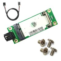 Wholesale SMAKN Mini PCI E to USB with SIM Card Adapter