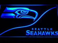 Wholesale Seattle Football Sport Bar Beer LED Neon Light Sign Wholeseller Dropship colors to choose