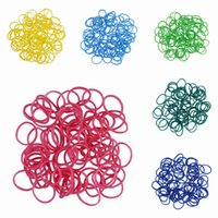 Link, Chain rainbow loom rubber band - 10 Bags Colorful Rainbow Assorted Loom Style Rubber Band Bracelet Elastic Hand Chain Bracelet Making GNB