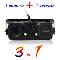 audi parking sensor - 3 in Parking Sensor with Rearview CAR Camera Universal Type