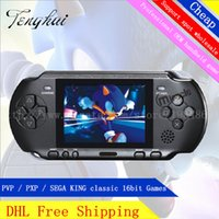console - DHL PXP3 bit inch screen Pocket Handheld Video Game Player Console System Games Factory Outlet