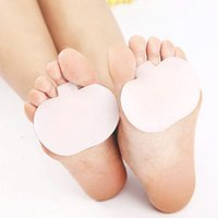 ball of foot cushion - 1Pair Gel Metatarsal Sore Ball of Foot Pain Cushions Pads Insoles Fore foot Support to hot sale