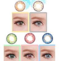 Wholesale 1pair new Mousa tone colors color contact lenses DHL shipping years experience Recognized comsmetic contact lenses