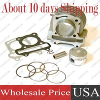 Wholesale sets a Cylinder kit for GY6 cc mm bore size QMB QMA Engine Moped Scooter Brand New