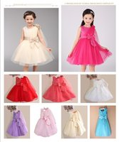 beautiful christmas stocking - 2015 Flower Girls Dresses Ball Gown In Stock Pageant Girls Dress Tulle Beads Sequins Bow Sash Cheap Modest Fashion Beautiful