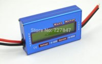 battery powered airplane - New Digital LCD For DC V A Balance Voltage RC Battery Power Analyzer Watt Meter