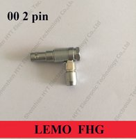 Wholesale LEMO Connector FHG CLAD35 LEMO FHG pin LEMO right angle line plug For the ARRI Mini Audio input