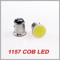 Wholesale Ultra bright Cob LED Car Flood light smd Auto External Lamp Bulb V Auto turn signals Car Reverse Brake LED lights