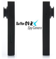Wholesale Spy Button Camera GB GB Hidden pinhole camera Mini Button DV DVR Voice Video Recorder HY in retail package