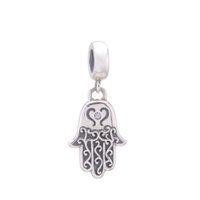 Wholesale Silver Pendant crystal beads Dangle loose beads Family Friends sterling silver charms fit European Bracelets No50 S112