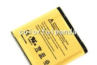 Wholesale New Arrival BP M High Capacity Gold replacement Battery for NOKIA N93 N73 BP M mAh