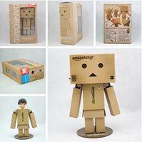 Wholesale Cute Lovely Danboard Danbo Doll PVC Action Figure Toy with LED Light Amazon Style cm EMS