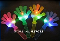 Wholesale 480PCS LED Cheering Plastic hand clapper noise maker party product cm