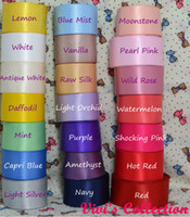 Wholesale 250yards Double Sided Faced Satin Ribbon Grosgrain Ribbon MM