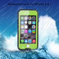 XLF HLF redpepper Prendere impermeabile foto subacqueo Durable prova Diving protegge la copertura di caso per per iPhone 6