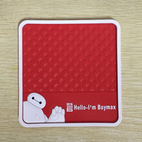 automotive floor mat - 2015 BIG HERO Baymax Car Interior Accessories Automotive interior supplies non slip mat Floor Mats Carpets