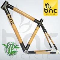 Wholesale EMS BNC Carbon Fiber Bamboo Road Bike Frame Road Bicycle Frame Cycling Frame