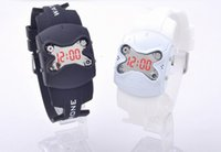 aviation displays - DHL wholesles Newest fashion hot sales aviation LED robot silicone wrist watch Plastic butterfly watch