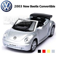 best convertible cars - High Simulation Exquisite Baby Toys KiNSMART Car Styling Volkswagen Beetle Convertible Alloy Sport Car Model Best Gifts