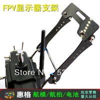 aerial fiber installation - FPV simple folding display stand with carbon fiber aerial monitor bracket easy installation