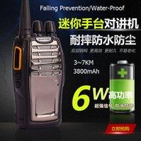 Wholesale 2800mAh High performance walkie talkies wireless walkie talkies watt water proof and unbreak walkie talkie portable walkie talkie radio