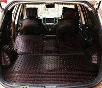 Wholesale for Hyundai Santafe seats special trunk mats durable waterproof easy to clean carpets Santa fe luggage mats M50606