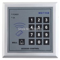 Wholesale Silver Metallic Proximity Multi Doors Lock RFID Card Reader Digital Keypad Smart Security Access Control