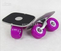 Wholesale 2013 new Skateboarding Drift Skates Drift Board freeline Skate Super PU wheel