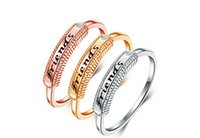 Wholesale Fashion Eglish Letter Finger Ring Fashion Letter Couple Finger Rings Bright LOVERS Opening Finger Rings Jewelry
