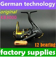 Cheap New German technology 12bb KB 3000 series spinning reel fishing reel sale for feeder fishing 2014 new top 1